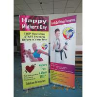China Light Weight Table Top Banners Display Interior Print Automatically wholesale
