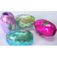 China Iridescent rainbow 5mm10m Curled Ribbon Egg for Wedding and Valentine's day decoration wholesale