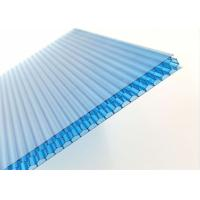China Suncover Blue Multiwall Polycarbonate Honeycomb Panels 12mm For Roofing wholesale