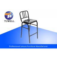 China Modern Emeco Navy Steel Dining Chairs For Dining Room Furniture wholesale