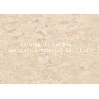 China Marble Design Interior Pvc Sheet Film , Wall Panel Hot Foil Rolls Fire Proof wholesale