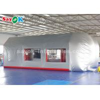 China Mobile Inflatable Paint Spray Booth With Sponge Filter For Car Maintenance wholesale