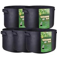China 3 Gallon 5 Gallon 10 Gallon 25 Gallon 100 Gallon Vertical Garden Grow Bags Aeration Fabric Pots Container wholesale