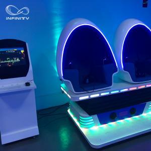China 3 Seats 9D VR Simulator 360 Egg Cinema VR Chair Arcade Game Machine wholesale