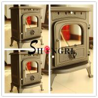 China forest paint Cast Iron Wood-Burning Stove wholesale