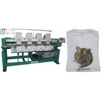 China Automatic 4 Head computerized Embroidery Machine for hats / towel wholesale