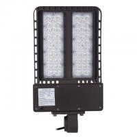Buy cheap Shoebox Exterior Parking Lot Lighting150w UL DLC AC 200-480V Lumileds Light from wholesalers