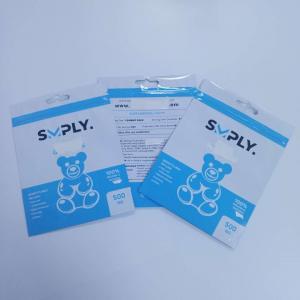 China Child Resistant Herbal Incense Packaging Cbd Bags Foil Gravnre Printing For Capsule wholesale