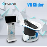 China Extreme Experience 9D VR Simulator Cool Appearance Design Multi Game wholesale