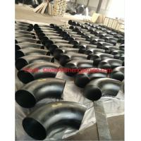 China butt welded pipe fittings elbow on sale