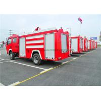 China Emergency Rescue Fire Fighting Truck With Fire Pump 4000Liters Water Tank wholesale