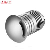 Buy cheap Aluminum LED 3W outside IP67 3ways LED spot light/LED step lamp for garden from wholesalers