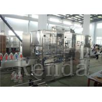 China Straight Line Water  Automatic Water Bottle Filling Machine Liquid Filling Machines wholesale