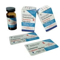 China Testosterone Propionate Vial labels  6x3cm Match The 10ml Vials on sale