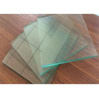 China Professional Clear Sheet Glass 1 mm ~ 2.7mm Thickness For Picture Frame wholesale