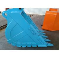 China Hydraulic Grapple Excavator Rock Bucket , Customized Compact Excavator Buckets wholesale