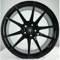Quality Gloss Black  Customized 20 Staggered Car Alloy Rims For Ferrari 458 for sale