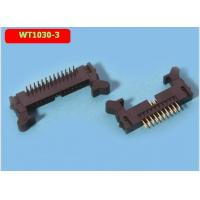 China WT1030-3 2.0mm Male Female Header Pins DC2 Horn Pin Socket Bent Foot wholesale