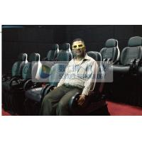 China Thrilling XD Theatre 9D Motion Simulators Experience With Yellow Glasses wholesale