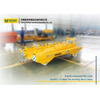 Buy cheap 2 Ton Plant Motorized Material Handling Carts Steel Transfer Car No Power from wholesalers