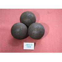 Cement Plants Hot Rolling Grinding Media Steel Balls for Ball Mill / Chemical Industry