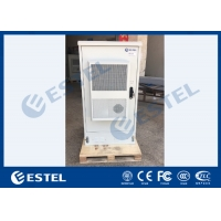 Buy cheap IP55 Galvanized Steel Outdoor Telecom Cabinet With Front & Rear Access from wholesalers