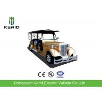 China Custom 11 Seater Antique Electric Cars Sightseeing Vehicle For Airport Reception on sale