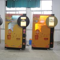 China Credit Card Currency Auto Industrial Fruit Juice Dispenser Machine With Cleaning System wholesale