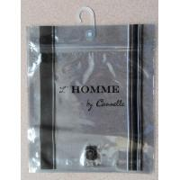 China Anti Static Aluminium Foil Bag With Plastic Hook For Underwear / Shorts wholesale