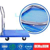 China Light - weight Steel Moving collapsible Platform Trolley for workshop wholesale