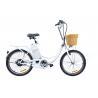 Buy cheap Cute 9Ah 22'' city electric hub motor bicycle 250 Watt e bike for women from wholesalers