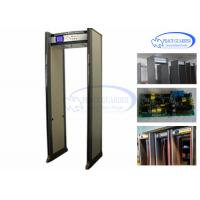 China Public Transportation Door Frame Metal Detector / Metal Detector Walk Through 24 Zones wholesale