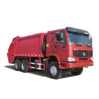 China Sinotruk Howo 6x4 18CBM Compactor Garbage Truck / Garbage Container Lift on sale