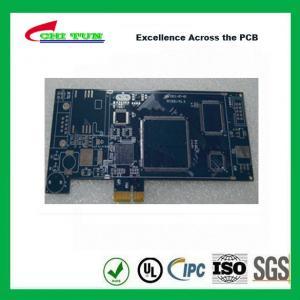 China Blue Multilayer PCB Board 6l fr4 1.6MM LF HASL + GOLD FINGER wholesale