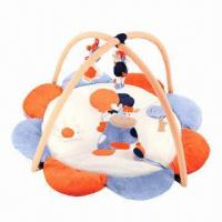 China Baby Activity Mat with Flower Shape, Safe, Practical and Reliable Material, Shaking, Squeezing Toys wholesale