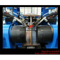China Automatic H Beam Assembling Welding Straightening Line for H Beam Making wholesale