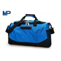 China Reusable Blue Color Weekend Luggage Duffel Bags For Women , Eco Friendly wholesale