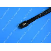 Quality SFF 8087 To SFF 8087 Serial Attached SCSI Cable , 36 Pin Mini SAS Power Cable for sale