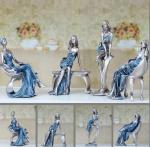 China European fashion girl art craftwork Decoration wholesale