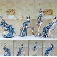 Quality European fashion girl art craftwork Decoration for sale