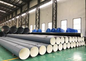 China A53 3PE Coated And Internal Epoxy FBE External Polyethylene Coated Pipe 3 Layer wholesale