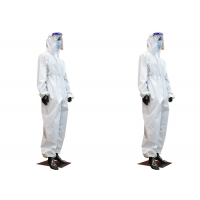 China Medical Healthcare SMMS Disposable Protective Coverall wholesale