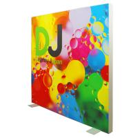 Quality Double Side Frameless SEG Light Box , LED Backdrop Fabric Light Box for sale