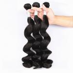 China Unprocessed Virgin Human Hair Bundles Loose Deep Wave Human Hair Weave For Black Woman wholesale
