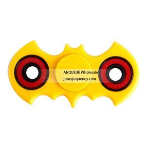 China Nice design spinner batman black white blue ABS hand spinner bat spinner for EDC toy wholesale