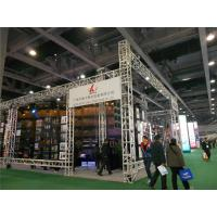 China Gymnasium Aluminum Box Truss Bolt Trade Show Booth Large Heavy Loading 450x600 mm on sale