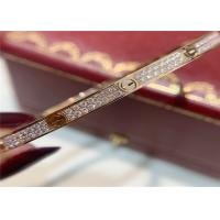 China Pave Diamonds N6710717 0.95ct 18k Pink Gold Bracelet Cartier cartier jewelry near me wholesale