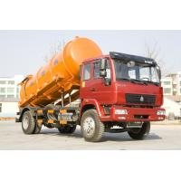 China 290hp EURO II Engine Sewage Suction Truck Multi Color Optional With Lift System wholesale