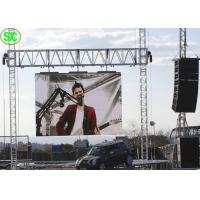 China Outdoor Movable Hanging P10 Rental LED Display Board Waterproof wholesale