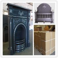 China price for cast iron indoor fireplace wholesale